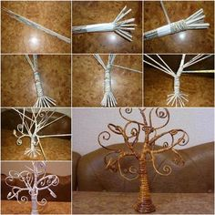 How to DIY Decorative Tree from Old Newspaper | iCreativeIdeas.com Like Us on Facebook ==> https://www.facebook.com/icreativeideas