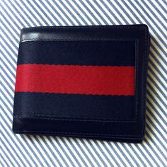 03f78ab8e28bfd Navy Blue Gucci wallet. Bohemian Style Men, Christian Audigier, Gucci Wallet,  School