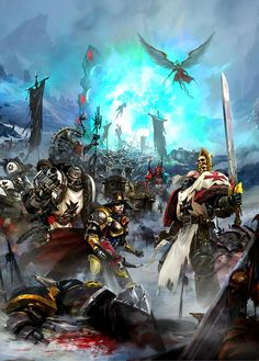 Warhammer 40k HQ : Photo