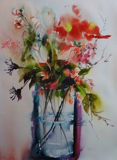 Spring in a vase by Olivia Quintin