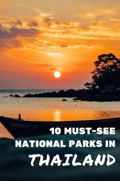 Top 10 best national parks to visit in Thailand: trekking, waterfalls, diving, snorkeling, wildlife... #travel #thailand #nature