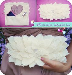 Chic + Pretty DIY Clutches for Your Bridesmaids · DIY Weddings | CraftGossip.com