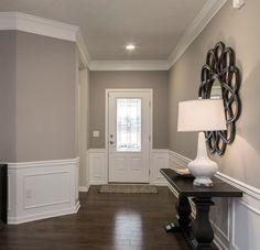 Warm Gray Paint, Warm Paint Colors, Best Gray Paint Color, Greige Paint Colors, Dining Room Paint Colors, Interior Paint Colors, Living Room Colors, Gray Color, Paint Colors For Bedrooms