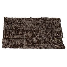 Mud Cloth | From a unique collection of antique and modern tribal art at https://www.1stdibs.com/furniture/folk-art/tribal-art/