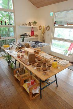 Bakery Display, Japan Shop, Nature Decor, Studio, Future, Room, Shopping, Design, Organize