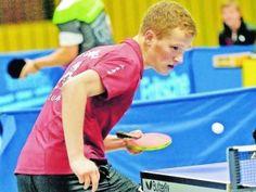Tobias Quick bei der den Deutschen Hochschulmeisterschaften im Tischtennis 2015 in Hamburg.