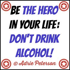 "My blog post, ""Just Don't Drink Alcohol,"" needed a typographic design to go with it—so I finally created one! :)"