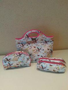 Bolso en neoprene, necesaire y cartuchera Lunch Box, Bags, Backpacks, Satchel Handbags, Products, Style, Handbags, Bento Box, Bag