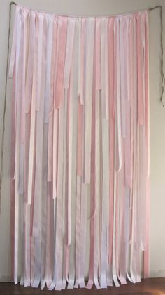Ribbon Backdrop MultiLength Custom by JessicaAnnBoutique on Etsy, $380.00