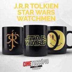E se J.R.R. Tolkien, George Lucas e Frank Miller sentassem para tomar um café juntos...
