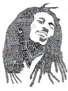 Google Afbeeldingen resultaat voor http://images.fineartamerica.com/images-medium-large/bob-marley-black-and-white-word-portrait-smock-art.j...