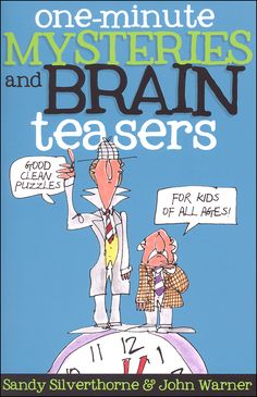 One-Minute Mysteries and Brain Teasers: Good Clean Puzzles for Kids of All Ages   Main photo (Cover)