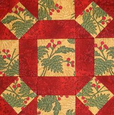 Starwood Quilter: Single Wedding Star Quilt Block