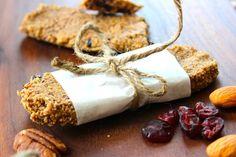 Organic Granola Bars ~ Gluten Free & Grain Free - Whole Lifestyle Nutrition | Organic Recipes | Holistic Recipes