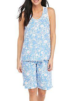 32d0b79ede Karen Neuburger Tank Top Bermuda Pajama Set Pajama Set