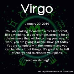 #horoscope#virgo#virgohoroscope#virgohoroscopes#astrology#dailyhoroscope#psychic Virgo Horoscope, Horoscopes, Astrology, Daily Virgo, How To Get, How To Plan, Have Time, Something To Do, Told You So