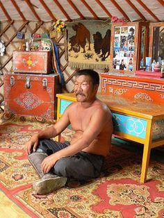 Mongolia - decorative yurt home