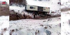 Kayseri'deki kazanın ayrıntıları ortaya çıktı: Kayseri-Malatya karayolun Pınarbaşı Bahçecik mevkiinde 16 şubat günü meydana gelen ve 21 kişinin yaralandığı kazada, yolcu otobüsünün, sürücünün kaygan zeminde direksiyon kontrolünü yitirmesi sonucu değil, şerit ihlali yapan bir otomobilin çarpması sonucu uçuruma yuvarlandığı ortaya çıktı.