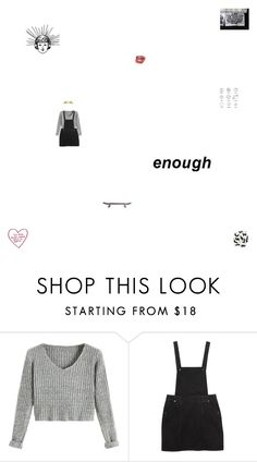 """""""im the king of song"""" by cosmic-grace ❤ liked on Polyvore featuring Monki and Ray-Ban"""
