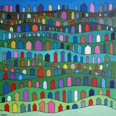 209 rainbow houses