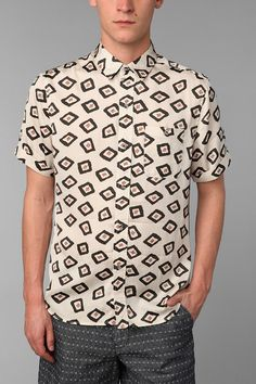 Your Neighbors Pattern Shirt