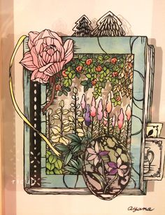 切り絵:夏の日の逃亡の画像 | 小娘の切り絵制作日記