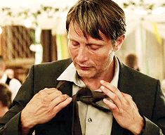 "Mads Mikkelsen...undressing in ""Move On"""