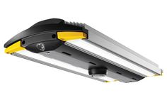 Big Ass Light LED Garage Light delivers a whopping 13000 lumens is built around a durable single-piece aluminum body and backed with a full 7 year warranty. - March 02 2019 at Led Garage Lights, Led Shop Lights, Garage Lighting, Shop Lighting, Lighting Ideas, Lighting Design, Kitchen Lighting, Garage Shop, Garage House