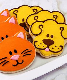 Cat & Dog Cookie Gift Box by Corso's Cookies #zulily #zulilyfinds