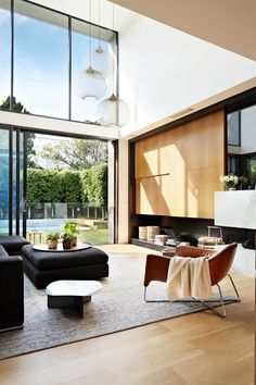 Natural materials integrated in modern property: Oban House by Workroom Design
