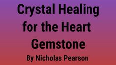 #Crystal #Healing for the #Heart  #Gemstone #Therapy for #Physical #Emotional, and #Spiritual Well-Being  By Nicholas Pearson @InnerTraditions #ad http://amzn.to/2y10m32    #Learn how to #SAVE on #HP #Ink and get a #FREE #Month #ad  http://try.hpinstantink.com/hzTV6