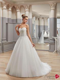 Robe de mariée Mlle Ballet, robe de mariée ballerine - Pronuptia