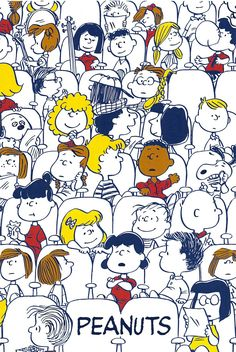 Gang of peanuts - Peanuts Snoopy Wallpaper, Cartoon Wallpaper, Disney Wallpaper, Iphone Wallpaper, Snoopy Love, Snoopy And Woodstock, Peanuts Cartoon, Peanuts Snoopy, Trendy Wallpaper