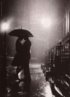 Oh, i love a rainy night, just wish we were together! The rain makes me think of that day at the field and many other rainy afternoons in your arms <3