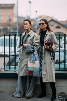 Julia and Sylvia Haghjoo by STYLEDUMONDE Street Style Fashion Photography FW18 20180222_48A3546 #fashionphotography