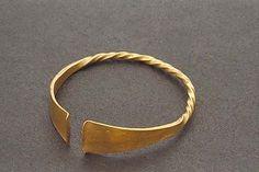 Viking age / Gold bracelet/Bohuslän