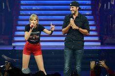 Taylor Swift Returns Home, Duets With Luke Bryan at Nashville Show | Billboard
