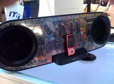 Sony unveils customisable iPod dock | Sony was showing a new iPod dock device at this week's Gadget Show Live event at the Birmingham NEC, which uniquely gives users the opportunity to design the look of the sound system's front panel. Buying advice from the leading technology site