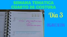 Semana temática del cuarto de costura Hilos y Más Día 3: planificación #hilosymas #semanatematica