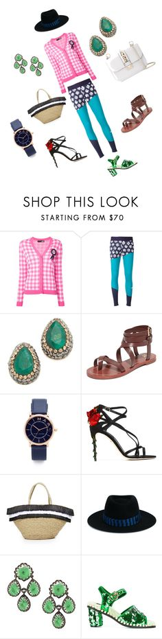 """""""Fashion ocean"""" by emmamegan-5678 ❤ liked on Polyvore featuring Love Moschino, adidas, Native Gem, Tory Burch, Marc Jacobs, Dolce&Gabbana, Mystique, Maison Michel, Suecomma Bonnie and Valentino"""