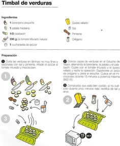 Recetas de supervivencia para principiantes #ClippedOnIssuu Steam Cooker, Food Humor, Make It Simple, Tupperware, Fresco, Eat, Cooking, Natural, Recipes