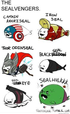 The Sealvengers / WeKnowMemes