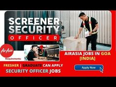 AirAsia Hiring Security Agent [Ground Staff] in GOA, India - Step by Ste...