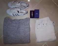#outfit #silver #white #adidassuperstar #Swarovski #jewels #crystal #bracelet #cannella #italia #pull #cropp #whitejeans #italiangirl #polishgirl #fashionaddict #obsession #style #moda #lover #l4l #girlsthings #inspiration #look