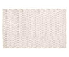 Tappeto in cotone vellutato Velvet neve - 240x170 cm