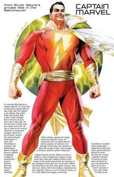 Tagged with superhero, justice league, dc comics; Shared by Bruce Wayne's Private files Dc Comics Characters, Dc Comics Art, Marvel Dc Comics, Ms Marvel, Original Captain Marvel, Captain Marvel Shazam, Shazam Comic, Superhero Facts, My Superhero