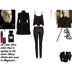 """""""Draco Malfoy"""" by mckenzie-mh on Polyvore"""