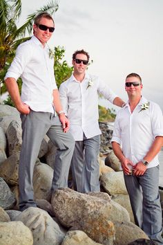 Casual Groom Attire Ideas | ... this post, here are the options for ...