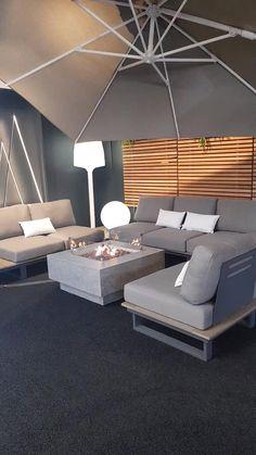 Outdoor Sofa Sets, Outdoor Seating, Outdoor Living, Outdoor Furniture Sets, Built In Garden Seating, Outdoor Rooms, Outdoor Gardens, Outdoor Chairs, Rooftop Design