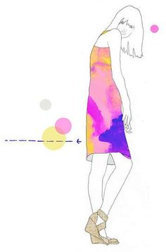 Stylishly Sketched Stationery : Fashion Illustration Art